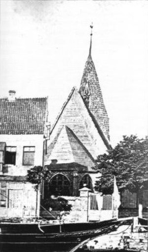 Warnemünde Church - Previous Church,  demolished 1872