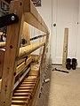 Warp beam apron string replacement (51037419107).jpg
