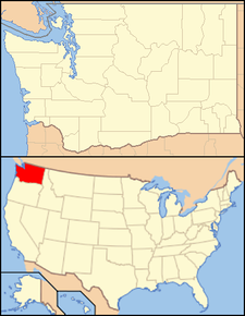 White Salmon is located in Washington