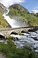 Wasserfall Latefossen in Norwegen. IMG 2282ВЕ.jpg