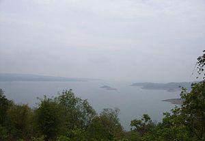 Ropar Wetland - View of Reservoir