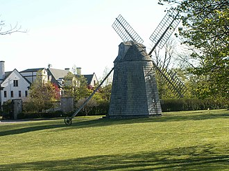 Windmill at Water Mill - Image: Watermill convent