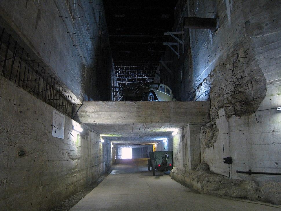 Watten bunker interior