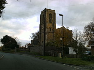 Wawne - St Peter's Church viewed from Main Street