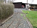 Weiche der Feldbahn im Deutschen Dampflokomotiv-Museum in Neuenmarkt, Oberfranken (14311153231).jpg