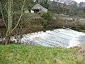 Weir on the River Calder, Sowerby Bridge - geograph.org.uk - 1181699.jpg