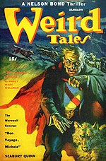 Weird Tales cover image for January 1944