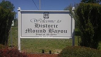Mound Bayou, Mississippi - Image: Welcome To Mound Bayou Sign