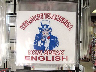 English-only movement US political and cultural movement