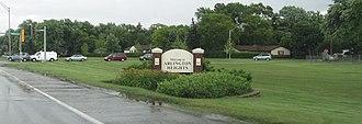 Arlington Heights, Illinois - Welcome sign
