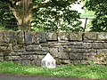 West Riding boundary marker near Broughton Hall - geograph.org.uk - 1396699.jpg