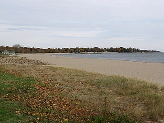 Sherwood Island State Park - East Beach at Sherwood Island State Park