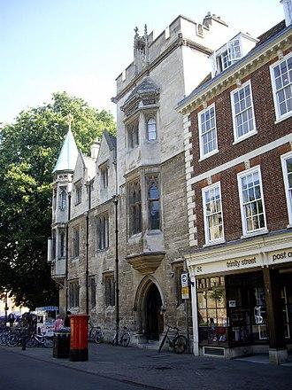 Srinivasa Ramanujan - Whewell's Court, Trinity College, Cambridge