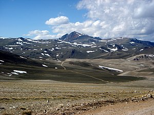 White Mountain Peak - White Mountain Peak from trail, June 2004