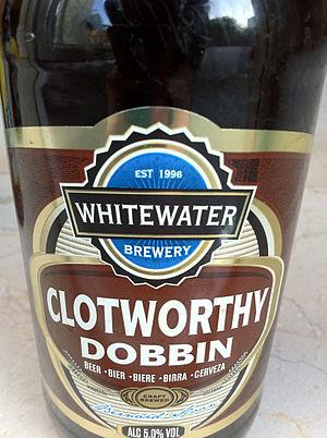 Beer in Northern Ireland - Whitewater - Clotworthy Dobbin