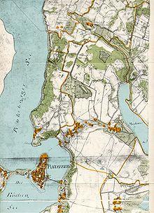 Wiebeking-Karte vom Fürstentum Ratzeburg (Quelle: Wikimedia)