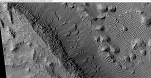 Medusae Fossae Formation - Image: Wikiesp 036510 1735layersmedussa