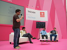 Wikimedia Spain in Campus Party 2011 in Spain -24.jpg
