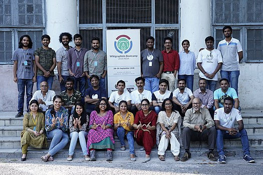 Wikimedians at Wikigraphists Bootcamp (2018 India) (45).jpg