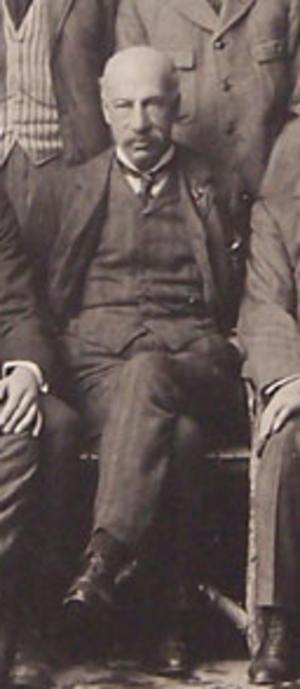 William Cail - William Cail with the British Isles team in 1910