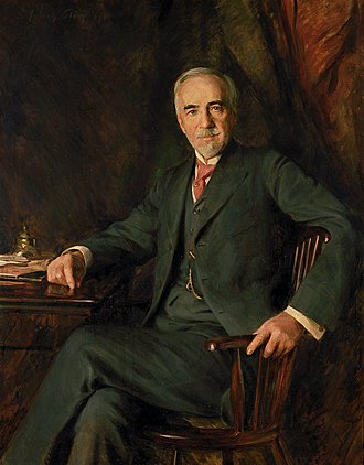 William Hood Dunwoody - Portrait of William Hood Dunwoody by Julian Russell Story (1911)