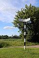 Willingale, Essex, England - Miller's Green Road junction fingerpost.JPG