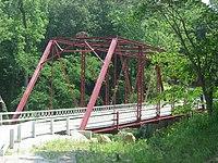 Wilson Bridge over Deer Creek, western portal and southern side.jpg