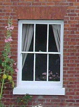 Architecture of London - Rectangular sash window