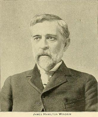 James H. Windrim - Image: Windrim Phila & Popular Philadelphians 1891 p.9