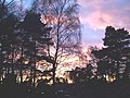 Winter Sunset over Copped Hall, Camberley - geograph.org.uk - 1092648.jpg