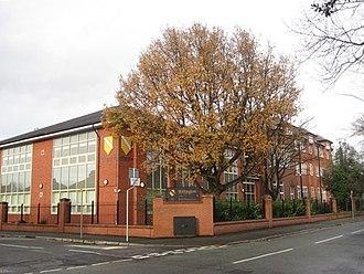 Withington Girls' School - Image: Withington Girls School geograph 1684409