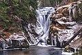 Wodospad Szklarki zimą.jpg