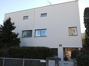 Gabriel Guevrekian - Houses in Vienna Werkbundsiedlung, designed by Guevrekian