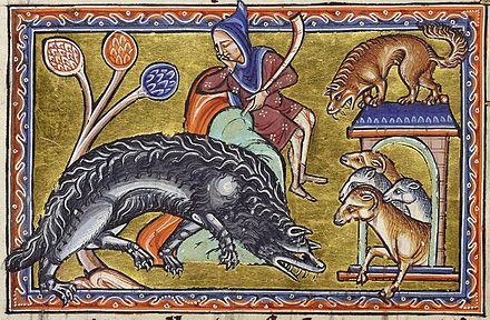 Loup Dans La Culture Wikipédia
