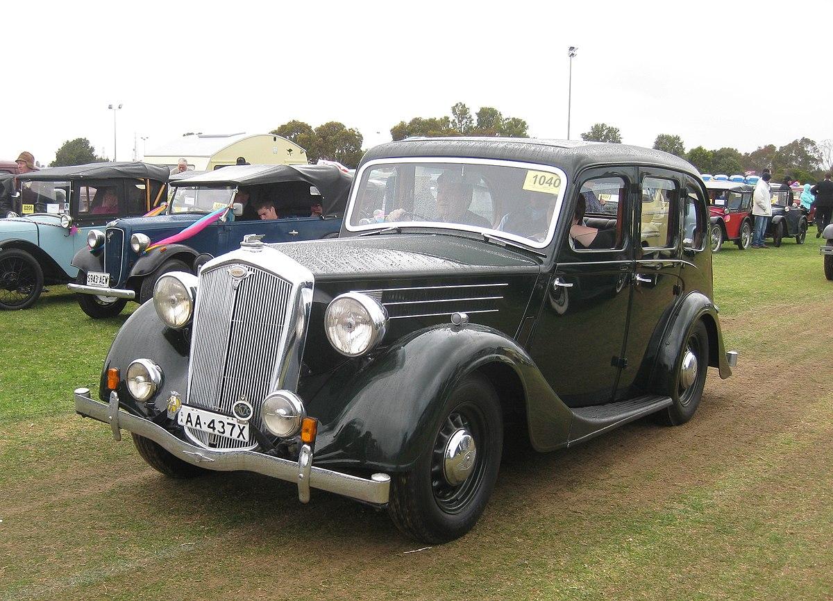 Wolseley 18 85 1938 To 1948 Wikipedia