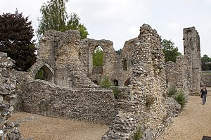 Wolvesey Castle - Ruins of Wolvesey Castle.