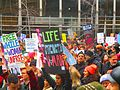 Women's march to denounce Donald Trump, in Toronto, 2017 01 21 -bu (32079078550).jpg