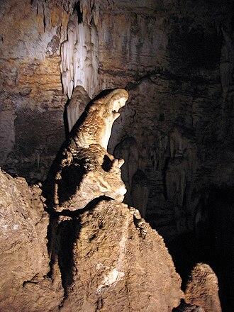 "Wonder Cave (Kromdraai, Gauteng) - The ""Praying Mary"""