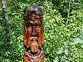 Wood-Carved Figure at Stone Circle - Khortytsa Island - Zaporozhye - Ukraine (42284870280).jpg