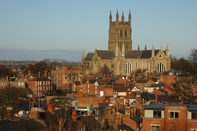 Worcester Cathedral - geograph.org.uk - 706524