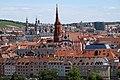 Wuerzburg-von Festung-10-Mainufer-Turm der Marienkapelle-gje.jpg