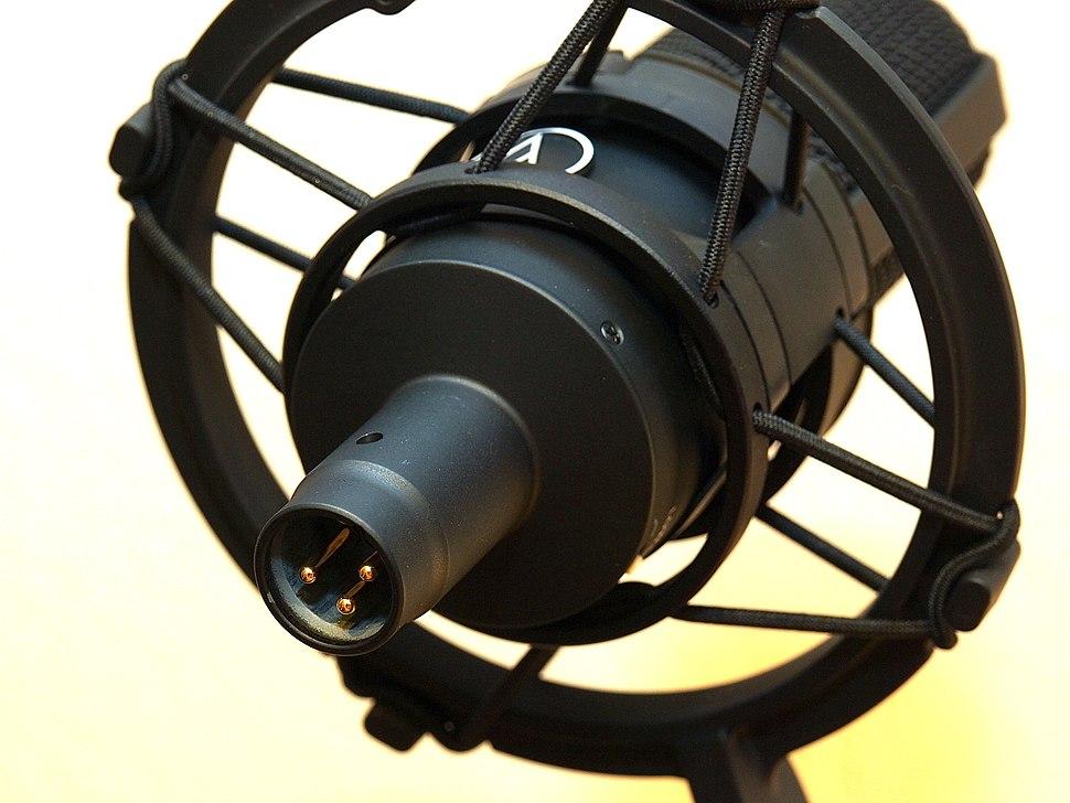 XLR-microphone