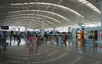 Xi'an Xianyang International Airport - Terminal 3 Airport departure hall
