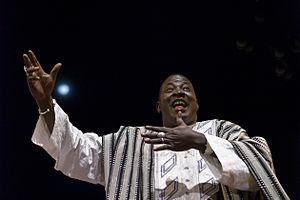 Yacouba Moumouni - Yacouba Moumouni at the Festival au Desert near Timbuktu, Mali 2012