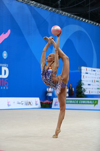 Yana Kudryavtseva - Yana Kudryavtseva at the 2016 World Cup in Pesaro