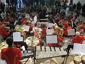 Ynyshir - Ynyshir Welfare Band at the Millennium Centre, Cardiff
