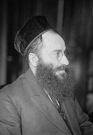 Yossele Rosenblatt - Rosenblatt in 1918
