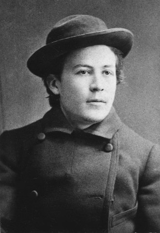 Anton Chekhov - Young Chekhov in 1882