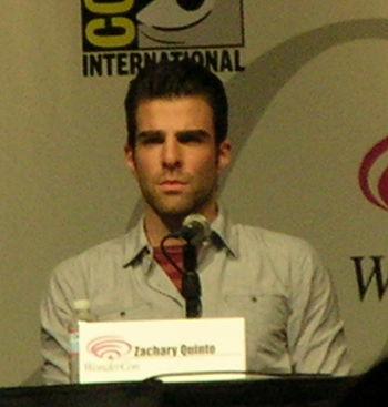 Zachary Quinto at WonderCon 2009 1