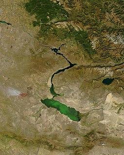 lake in eastern Kazakhstan